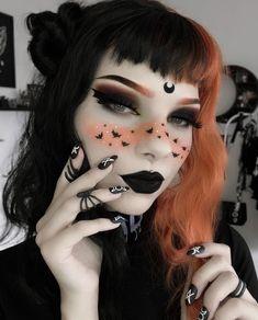 Halloween Makeup Clown, Halloween Makeup Looks, Halloween Ideas, Halloween 2020, Creepy Halloween, Clown Makeup, Scarecrow Makeup, Halloween Halloween, Women Halloween