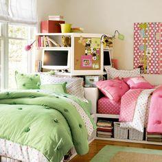 Corner unit store-it bed
