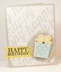 Celebrate You stamp set and Die-namics, Happy Everything, Pierced Fishtail Flags STAX Die-namics, Pinking Edge Circle STAX Die-namics - Lisa Johnson #mftstamps