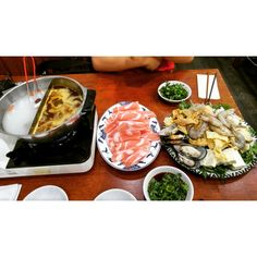 Chinese hot pot *-*v          #food #chinese #hotpot #pics #life #fantastic #doityourself #follow #crazy #foodgazm #foodporn #fun #funny #delicious #selfmade #tasty #addme #youtube #creative #inspired #followme #sugoi #sugoiwhat #super #nice