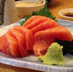 Dinner of the day. Salmon Sashimi @ Rakuzen, Publika, Solaris Dutamas.