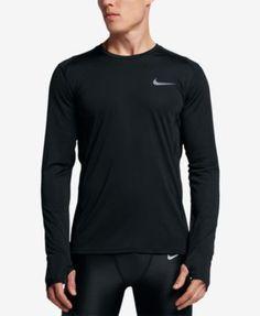 a07d12637d5f0 Nike Men s Dry Miler Long-Sleeve Running Top   Reviews - T-Shirts - Men -  Macy s