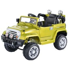 c765da9246a8d Costway 12V MP3 Kids Ride On Truck Jeep Car RC Remote Control w  LED Lights