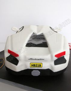 Celebrate with Cake!: Lamborghini Aventador Cake