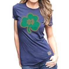 for the game: Notre Dame Fighting Irish Women's Short Sleeve Tee