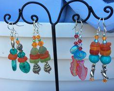 Eye candy earrings
