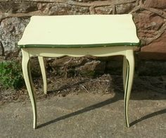 Antique-French-console-table-original-paint-finish-CAN-DELIVER