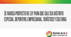 Proyecto de ley para que Cali sea distrito especial, deportivo, empresarial, turistico y cultural   http://senadormusabesailefayad.com/proyecto-de-ley-para-que-cali-sea-distrito-especial-deportivo-empresarial-turistico-y-cultural/