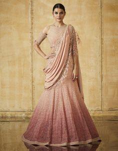 Astounding Pastel Lehengas That Are In Vogue This Season Banarasi Lehenga, Pink Lehenga, Bridal Lehenga, Bridal Portraits, Pastel, Vogue, Wedding, Beautiful, Dresses