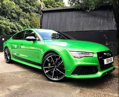 """3,657 Likes, 14 Comments - AudiEngine Gallery (@audiengine) on Instagram: """"• Fast cucumber. • Owner: @rs4tdi Car: 2014 Audi RS6 HP(stock RS6): 4.0L twin-turbo V8 560hp…"""""""