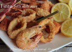 Finto pesce fritto al forno una fintafrittura misto mareleggera,croccante,senza schizzi. Pesce cotto al forno con panatura perfetta per frittura di pesce