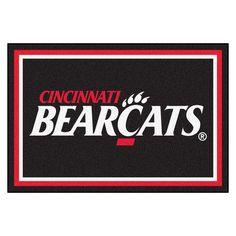 "FANMATS NCAA University of Cincinnati Rug Rug Size: 5' x 7'8"""