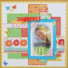Just Be Happy - Scrapbook.com