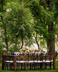 Reception under the trees  http://brds.vu/A2vJhA  #Wedding