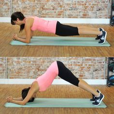 Dolphin Plank - Top Fitness Trainers Reveal Their Best Exercises Right Now - Shape Magazine
