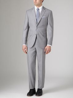 Napoli Herringbone Suit by Jack Victor Studio on Gilt.com