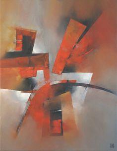 "Saatchi Art Artist: Francisco Silva Torrealba; Oil 2013 Painting ""Box of surprises 5 - SOLD"""