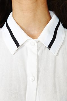 Total Ace Blouse diy collar