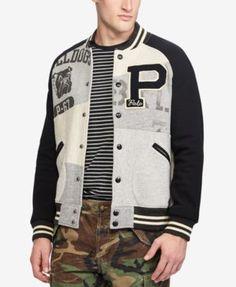POLO RALPH LAUREN Polo Ralph Lauren Men's Patchwork Fleece Jacket. #poloralphlauren #cloth #