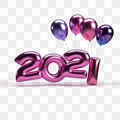 Happy New Year Text, Happy New Year Pictures, Happy New Year Background, Christmas Mood, Christmas And New Year, New Year Clipart, New Year Calendar, Purple Balloons, New Year Wallpaper