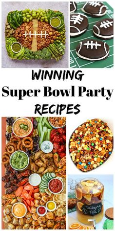 We've rounded up our favorite game day recipes that are sure to win everyone over at your Super Bowl Party! Baked Chicken Tenders, Crispy Baked Chicken, Baked Chicken Wings, Snack Mix Recipes, Tailgating Recipes, Party Recipes, Honey Mustard Glaze, Easy Homemade Salsa, Cookie Dough Frosting