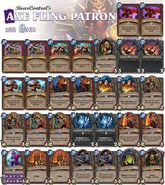#Hearthstone Axe Flinger Patron Warrior | S22