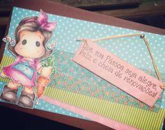Cartão de páscoa Magnolia