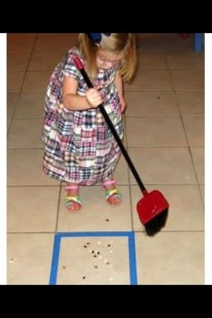 Keep kids busy while cleaning