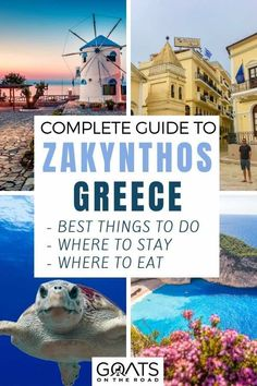 Planning to travel to Zakynthos in Greece and looking for the best things to do in this beautiful destinations? We've got the tips on where to stay, which beaches to visit and what restaurants to eat at in our complete travel guide. | #europetravel #visitgreece #zakynthos