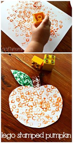 Here you will find a list of pumpkin crafts for kids to make this Halloween and fall season! Find tons of ideas that are cheap and easy to do at home or in the classroom. kids crafts Easy Pumpkin Crafts for Kids to Make this Fall - Crafty Morning Pumpkin Crafts Kids, Kids Crafts, Daycare Crafts, Lego Pumpkin, Fall Crafts For Preschoolers, Easy Crafts, Homemade Crafts, Craft Kids, Thanksgiving Crafts