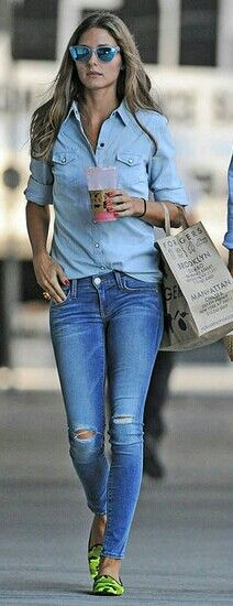 How to do denim on denim...!