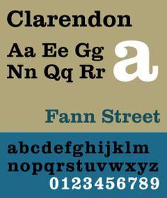 clarendon font - Google Search FORMAL