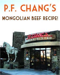 P.F. Chang's Recipe: Mongolian Beef! {Gluten-Free} #copycat #recipes #glutenfree