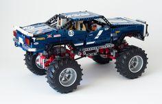 LEGO TECHNIC 4x4 Crawler Exclusive Edition Set 41999 MOD
