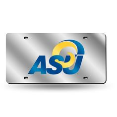 Alcorn State Braves NCAA Laser Cut License Plate Tag