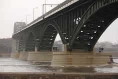 Peace Bridge - Boundary Between Buffalo NY and Fort Erie Ontario by North of 49, via Flickr