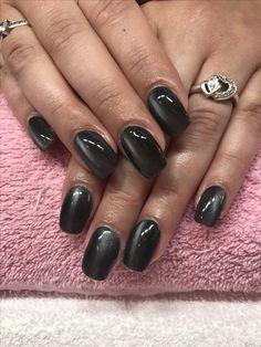 Cat Eye Magnetic Black California Nails Stavanger Norway Negler Naglar Cnd