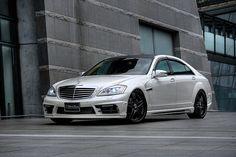 Mercedes Benz S-class W221 M/C after Sports Line Black Bison Edition