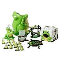 Frog Bathroom set
