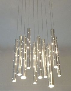 Modern Chandelier Lighting, Modern Light Fixtures And Modern Lighting Italian Lighting, Rustic Lighting, Cool Lighting, Lighting Design, Lighting Ideas, Luxury Lighting, Interior Lighting, Pendant Chandelier, Modern Chandelier