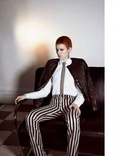 Freja Beha Erichsen por Glen Luchford para Vogue Paris Maio 2015