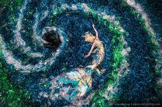 benjamin von wong plastic pollution mermaids hate plastic