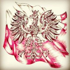 #polska #orzeł #białoczerwone #grafikapatriotyczna #flaga #hashtagfriday #japierdole #dumny Eagle Tattoo Girl, Polish Eagle Tattoo, Eagle Tattoos, Wolf Tattoos, Chest Piece Tattoos, Chest Tattoo, Polish Symbols, Chicano, Tatoo
