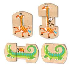 Melissa Amp Doug Classic Toys Baby Slide And Seek Safari