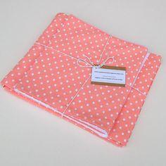 Organic Baby Blanket and Burp Cloths Set by MackandMabelOrganics, £39.00