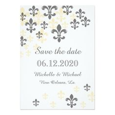 244 Best New Orleans Wedding And Save The Date Images In 2019 New