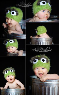 Oscar the grouch - it doesn't get cuter than this!!!!