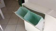 Garbage Bin With IKEA Shoe Rack Trones
