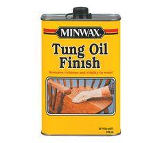 Minwax Tung oil