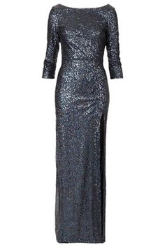 Sequin Maxi Dress - Topshop New Years